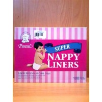 Pureen - Super Nappy Liners 100s (NEW)