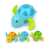 Swimming Turtle Floating Bathtub Bath Toy for kids (1pc)