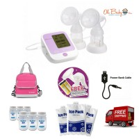 Autumnz - PASSION II Convertible Double Electric/Manual Breastpump Package