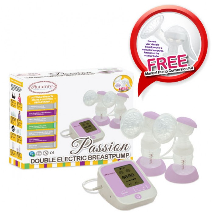 manual v electric breast pump