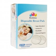 Bubbles - Disposable Breast Pads 60+12pcs - BEST BUY