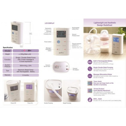 Spectra - 9 Plus Double Electric Breast Pump