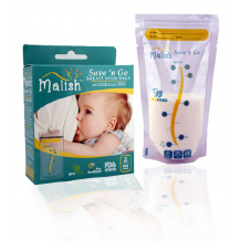 Malish - Save 'n Go Breast Milk Bags (25bags) (12oz/350ml)
