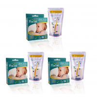 Malish - Save 'n Go Breast Milk Bags (25bags) (12oz/350ml) *3 box*