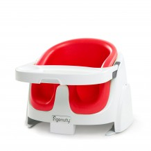 Ingenuity - Baby Base 2-in-1 Booster Seat (Red)