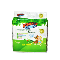 Baby Organix - Naturally Kinder Natural Cotton Diapers - BEST BUY