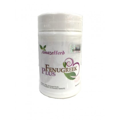 AmazeHerb Fenugreek Plus