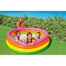 "Intex - Sunset Glow Pool (4 Rings) 66""x18"""