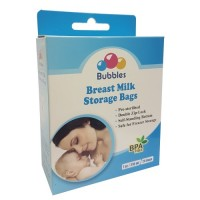 Bubbles - Breast Milk Storage Bag 7oz/210ml (25 Bags)