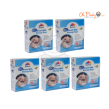 Bubbles - Breast Milk Storage Bag 7oz/210ml (25 Bags) *5 box*