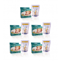 Malish  Save 'n Go Breast Milk Bags (25bags) (12oz/350ml) *5 box*