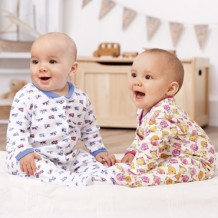 Lovable - Baby Sleepsuit 3 In 1 Pack