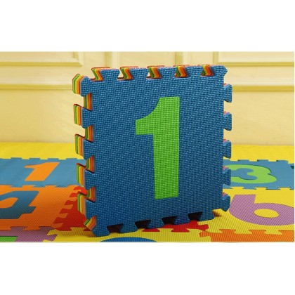 Lovable Soft Foam Puzzle Play Mat - Number