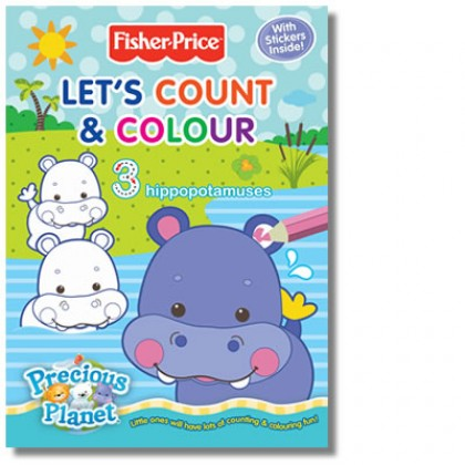 Fisher Price - Let's Count and Colour