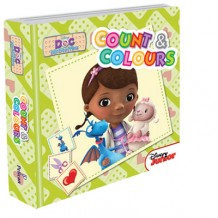 Disney Junior - Padded Board Book Count And Colours