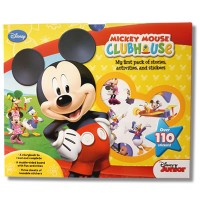 Disney Junior - Mickey Mouse Clubhouse: Mickey's First Pack of Stories, Activities and Stickers