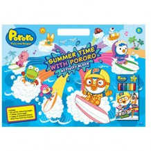 Pororo - Summer Time with Pororo Activity Block