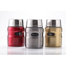 Thermos - Stainless Steel King Food Jar w/Spoon (SK-3000) 470ml