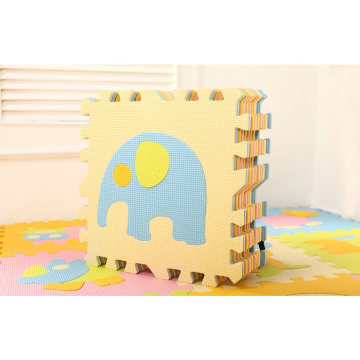 Lovable Soft Foam Puzzle Play Mat Animals 9pcs