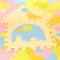 Lovable Soft Foam Puzzle Play Mat - Animals (9pcs)