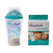 HoneySuckle - Moms Breast Pump Bags (50 bags)