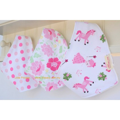 Mom's Care - Baby Fashion Dribble Bib 3pcs