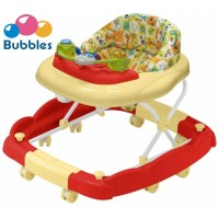 Bubbles - 2 in 1 Baby Walker - Cosmo Red