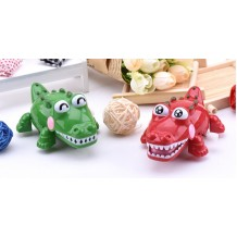 Lovable - Crocodile Clockwork Early Childhood Education Toy