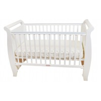 Seni Daya - Costa-A Full Board 4 in 1 Baby Cot (White)