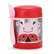 Skip Hop - Insulated Food Jar - LadyBug