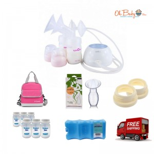Spectra - M1 Portable Double Electric Breast Pump Package
