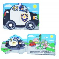 Police Car Light & Sound Cloth Book