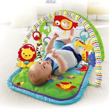 Fisher Price - 3 in 1 Musical Activity Gym