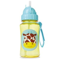 Skip Hop - Straw Bottle - Giraffe