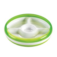 OXO Tot - Divided Plate - Green