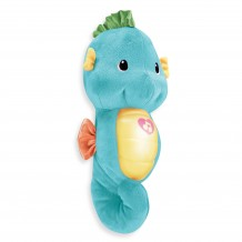 Fisher Price - Preschool Soother and Grow Seahorse - Blue