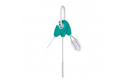 Oxo Tot - Straw and Sippy Cup Cleaning Set/Brush - Teal