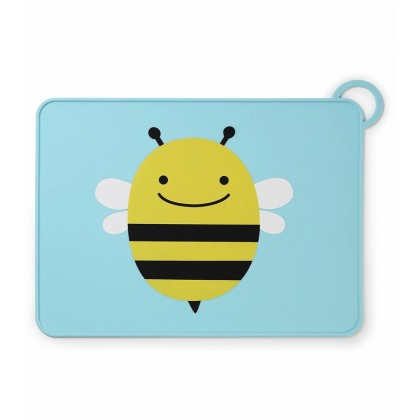 Skip Hop - Fold and Go Placemat - Bee