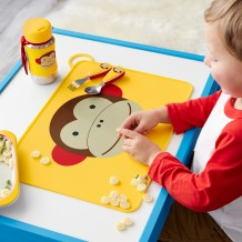 Skip Hop - Fold and Go Placemat  - Monkey