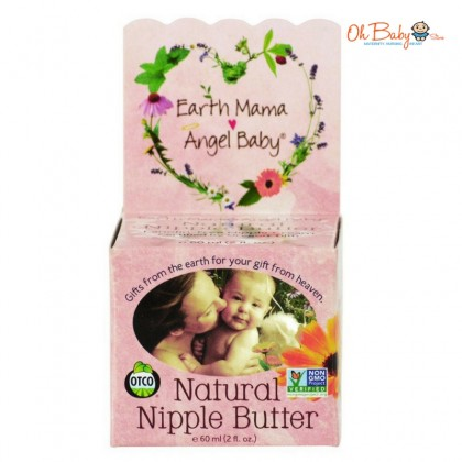 Earth Mama Angel Baby - Natural Nipple Butter 60ml