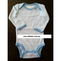Mini Pod - Long Sleeve Romper (Blue)