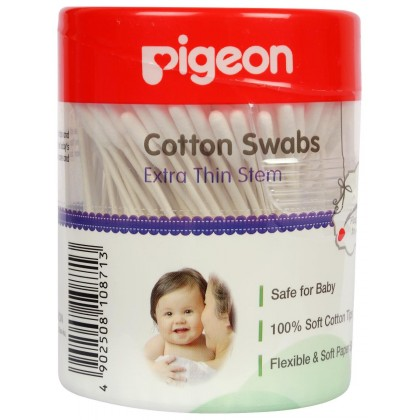 Pigeon - Cotton Swabs (Extra Thin Stem)