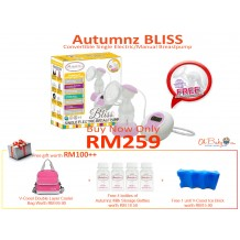 Autumnz - BLISS Convertible Single Electric/Manual Breastpump Package