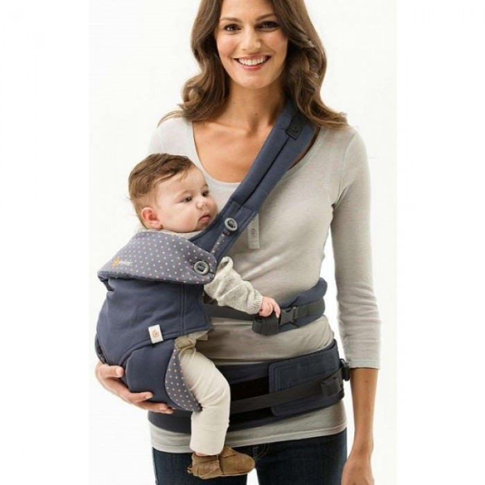 296bebd66ea Ergobaby - Four Position 360 Carrier - Dusty Blue