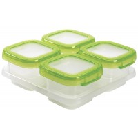 OXO Tot - Baby Blocks Freezer Storage Containers - Green - 4oz