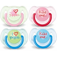 Avent - Soother I Love Papa 6-18m
