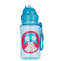 Skip Hop - Straw Bottle - Owl