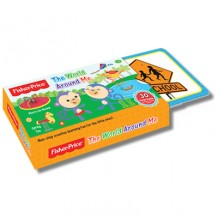 Fisher Price - Flash Card The World Around Me