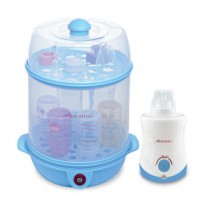 Autumnz - 2-in-1 Steriliser Steamer + Home and Car Warmer Combo (Blue)