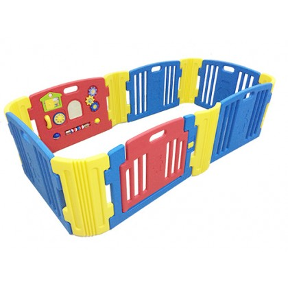 Haenim - Baby Play Yard 6 + 6 Panel (Blue)